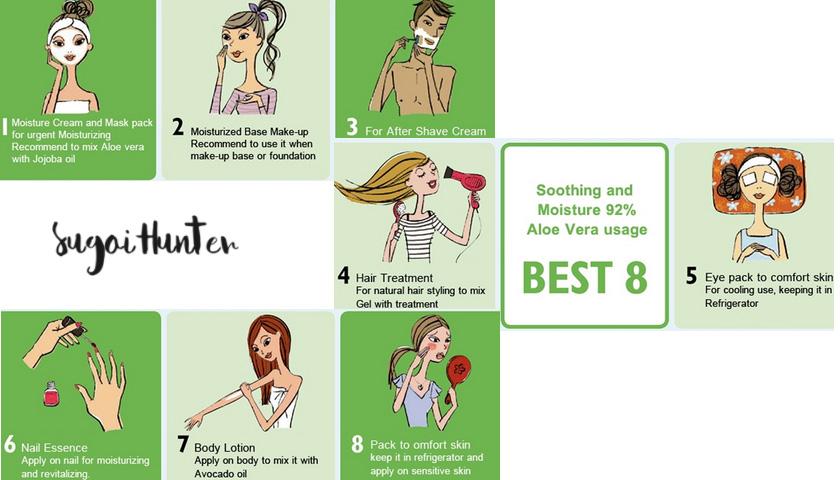 cosmetica coreana aloe vera