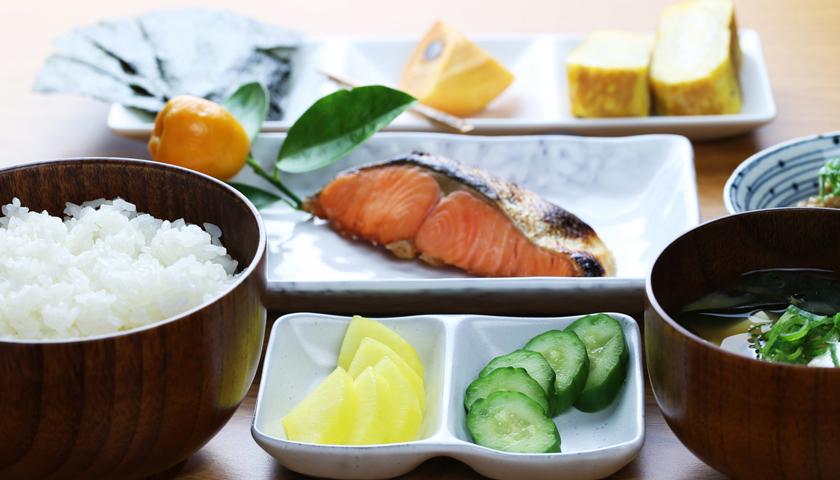 desayuno en japon