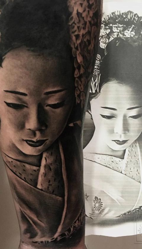 tatuajes de geisha 6