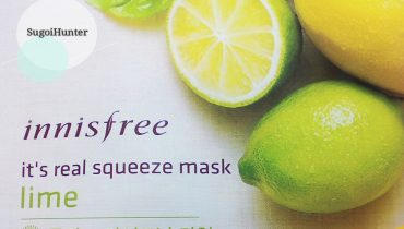 REVIEW: LIMA IT´S REAL SQUEEZE MASK DE INNISFREE