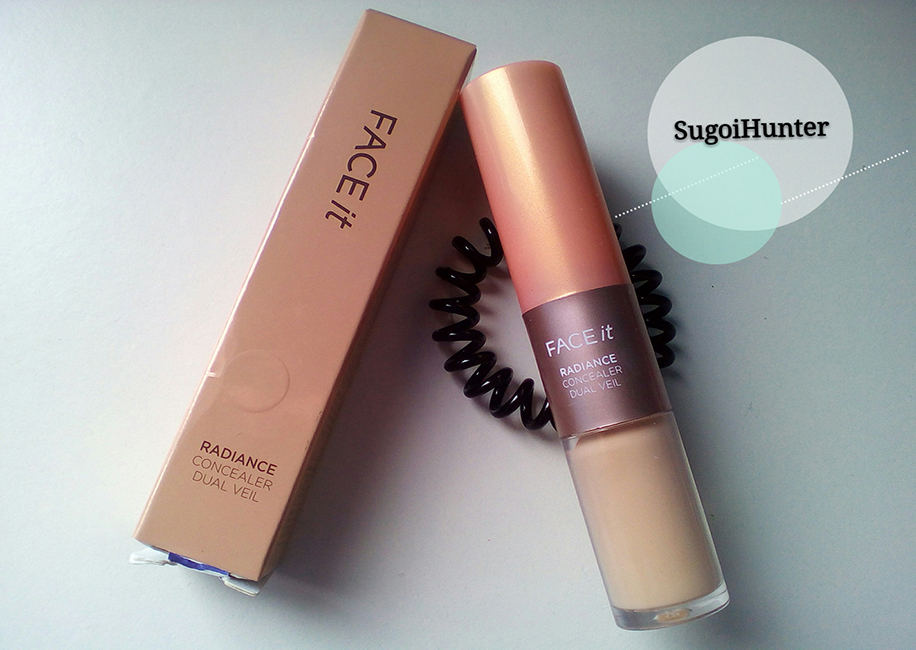 REVIEW: 'Face It' Radiance Concealer Dual Veil de The Face Shop