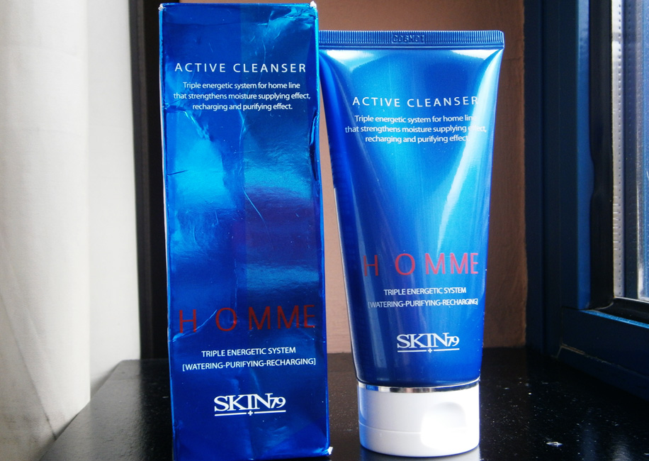 REVIEW: Homme Active Cleanser (SKIN79)