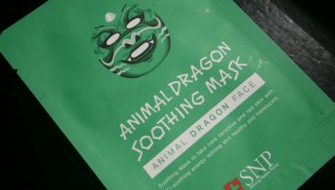 MASCARILLA — SNP ANIMAL DRAGON SOOTHING MASK