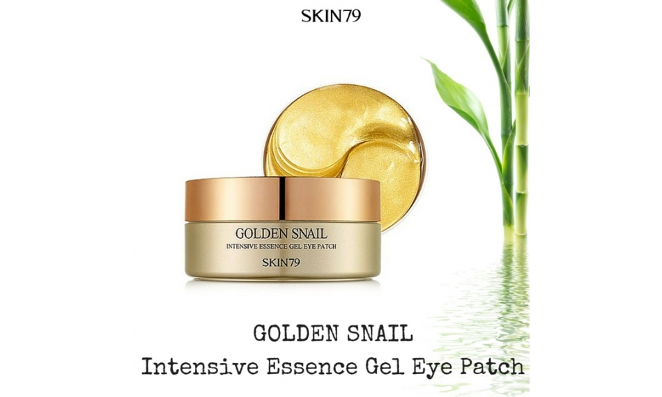 GOLDEN SNAIL INTENSIVE ESSENCE GEL EYE PATCH: ADIÓS A BOLSAS Y OJERAS
