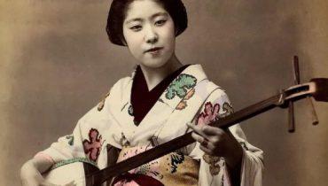 12 increibles fotos en color de Geishas de finales del SXIX