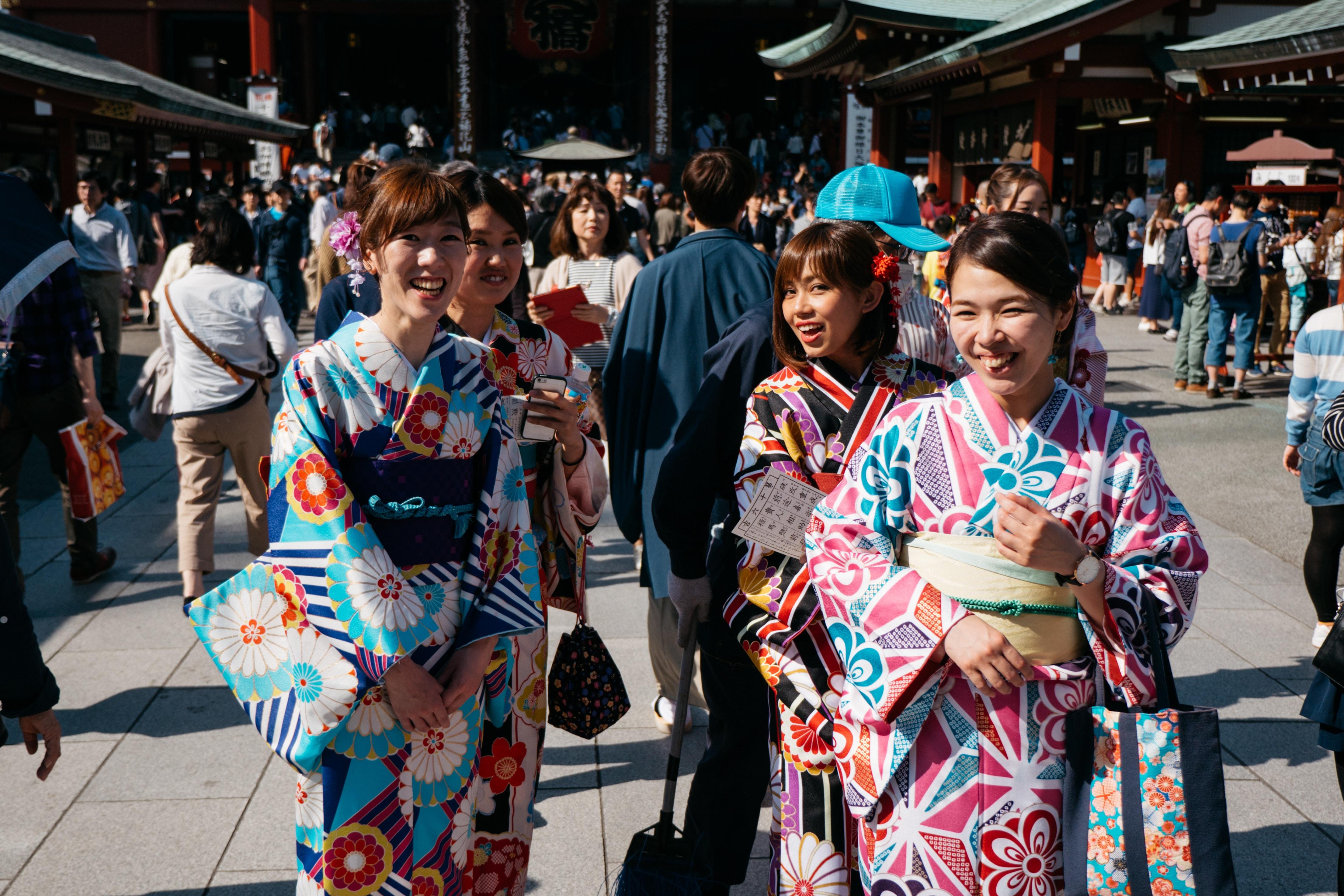 Alquilar un Kimono en Tokyo: 5 lugares imprescindibles