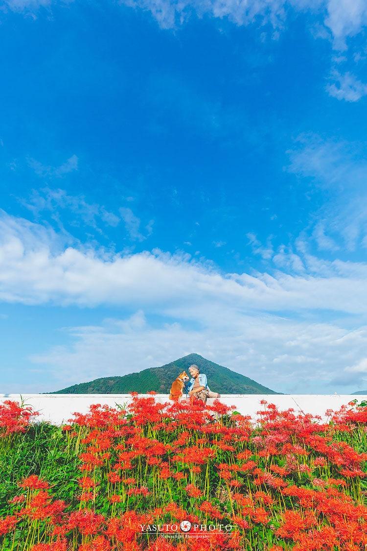 LA MIRADA DEL FOTOGRAFO YASUTO: SU ABUELA, SU PERRO Y JAPÓN